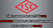 Türk Standardları Enstitüsü personel alımı