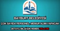 Bayburt Belediyesi personel, memur alımı