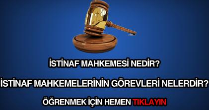 İstinaf mahkemesi nedir?