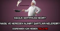 Aşçılık sertifikası nasıl ve nereden alınır?