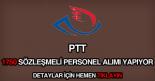 PTT 1750 sözleşmeli personel alımı ilanı