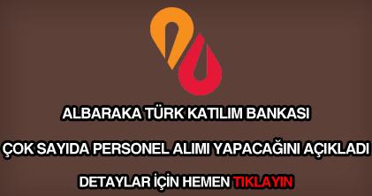 Albaraka Türk personel alımı