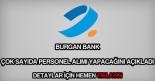 Burgan Bank personel alımı