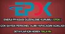 EPDK personel alımı