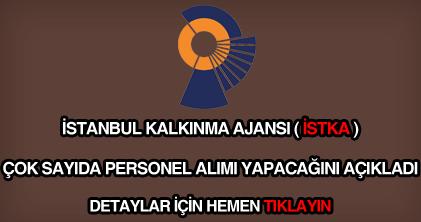 İstanbul Kalkınma Ajansı personel alımı