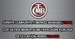 Merkez Bankası memur alımı ilanı