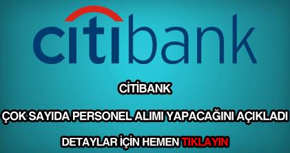 Citibank personel alımı