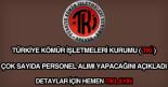 Türkiye Kömür İşletmeleri personel alımı