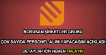 Borusan personel alımı