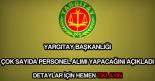 Yargıtay personel alımı