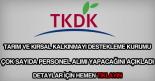 TKDK personel alımı ilanı