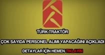 Türk Traktör personel alımı