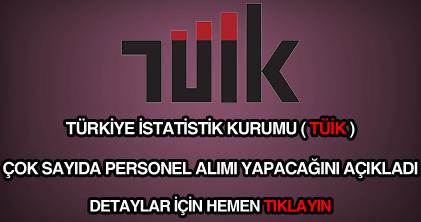 Türkiye İstatistik Kurumu personel alımı