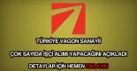Türkiye Vagon Sanayii işçi alımı