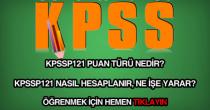 KPSSP121 nedir, ne demektir?