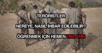 Fetöcüler teröristler nasıl ihbar edilir?