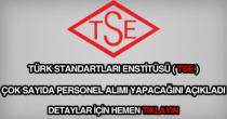 TSE personel alımı ilanı