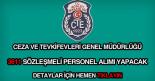 CTE 3611 sözleşmeli personel alımı ilanı