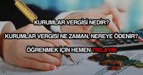 Kurumlar vergisi nedir?