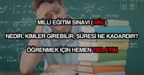 Milli Eğitim Sınavı (MİS) nedir?