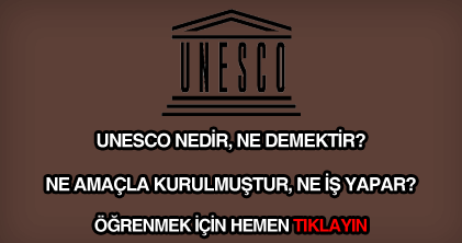 Unesco nedir, ne demektir?