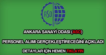 Ankara Sanayi Odası personel alımı