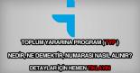 TYP numarası nasıl ve nereden alınır?