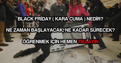 Black Friday nedir, ne demektir?