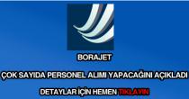 Borajet personel alımı