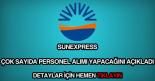 SunExpress personel alımı