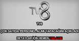 TV8 personel alımı