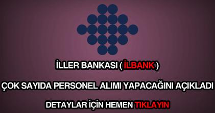 İller Bankası personel alımı