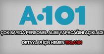 A101 personel alımı