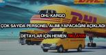 DHL Kargo personel alımı