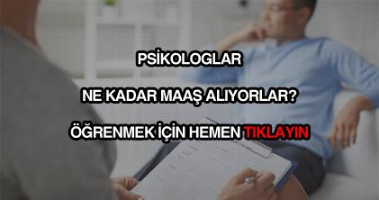 Psikolog maaşları