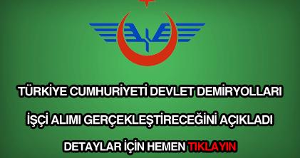 TCDD işçi alımı