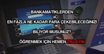 ATM para çekme limitleri