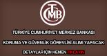 TCMB koruma ve güvenlik görevlisi alımı