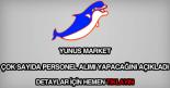 Yunus Market personel alımı