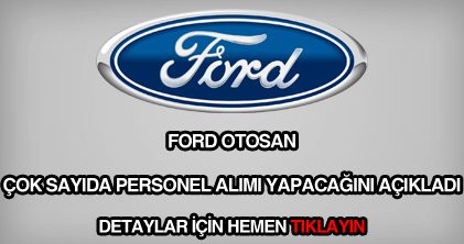 Ford otosan personel alımı