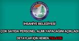 İhsaniye Belediyesi personel alımı