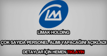 Limak Holding personel alımı