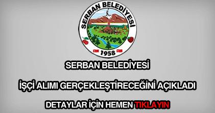 Serban Belediyesi işçi alımı