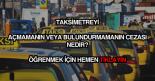 Taksimetreyi açmama bulundurmama cezası