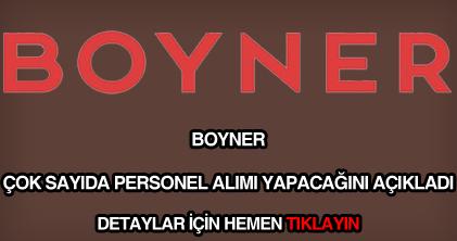 Boyner personel alımı