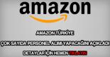 Amazon personel alımı