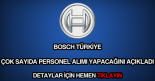 Bosch personel alımı
