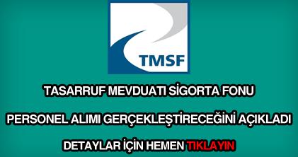 TMSF personel alımı