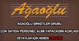Ağaoğlu şirketler grubu personel alımı