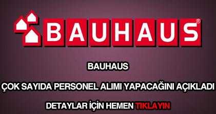 Bauhaus personel alımı